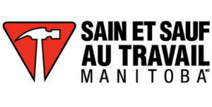 Sain et Sauf au travail Manitoba logo