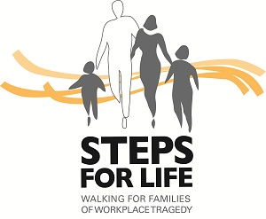 Steps for Life logo