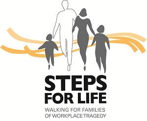 Steps for Life logo