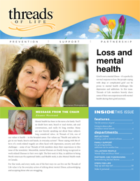 Cover of Spring 2017 edition of Threads