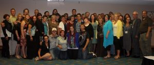 Group shot of participants at 2013 Western Canada Family Forum
