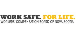 Work Safe. For Life. Workers' Compensation Board of Nova Scotia logo