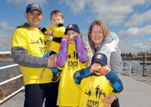 family at Steps for Life