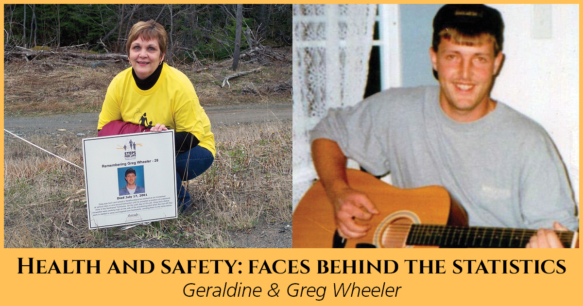 Health and Safety: Faces Behind the Statistics, Geraldine & Greg Wheeler