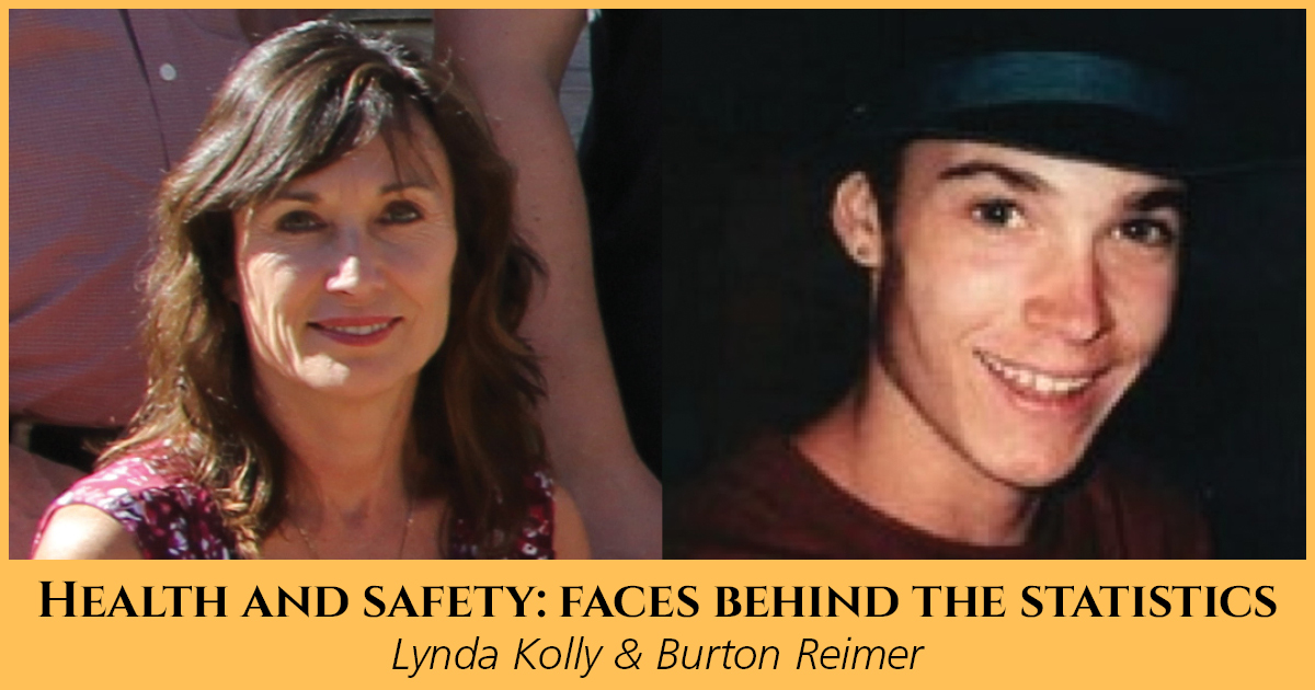 Health and Safety: Faces Behind the Statistics, Lynda Kolly & Burton Reimer