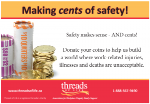 Making cents of safety jar label