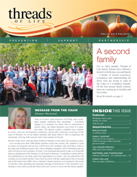 Threads fall 2016 newsletter cover