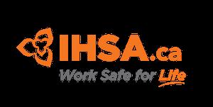 IHSA.ca Work Safe for Life logo