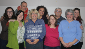 Volunteer Family Guides group