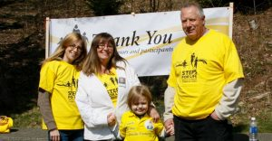 walkers at Steps for Life