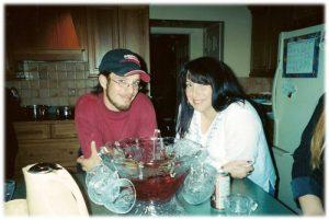 Micheal and Mom, Johanna