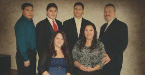 Nevin Di Julio and family