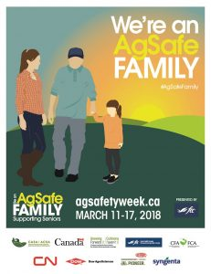 We're an AgSafe Family poster