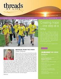 Cover of Summer 2018 newsletter