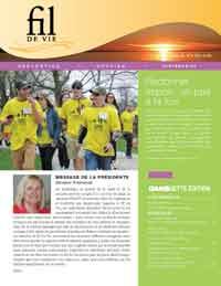 Summer newsletter cover French