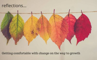 Getting comfortable with change on the way to growth
