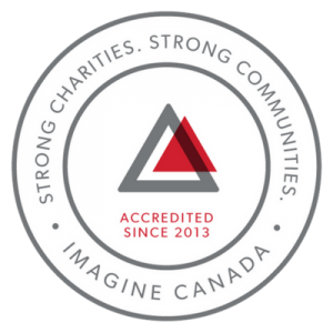 Strong charities. Strong communities. Imagine Canada Accredited since 2013