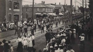 Labour Day Parade early 1900s Queen St Toronto
