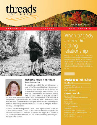 Cover of fall 2018 print newsletter