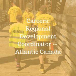 Careers: Regional Development Coordinator - Atlantic Canada