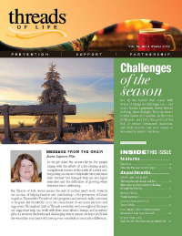 Winter 2018 cover newsletter French