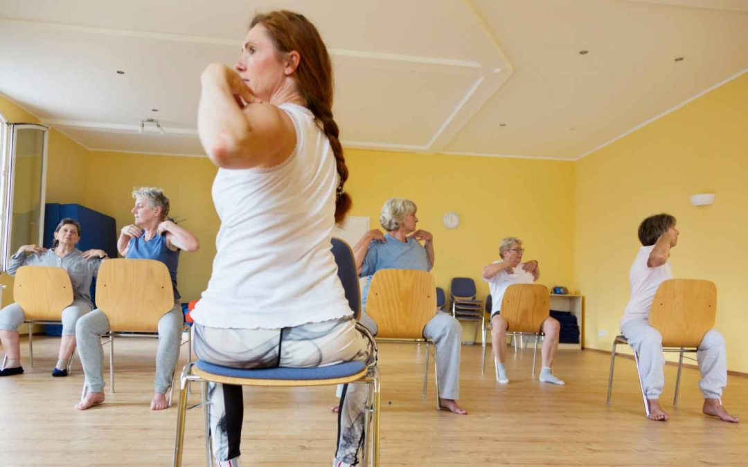 The Many Benefits of Chair Yoga