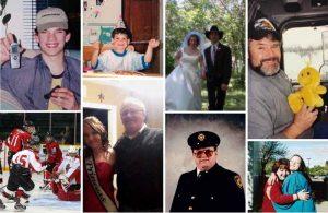 montage of family photos