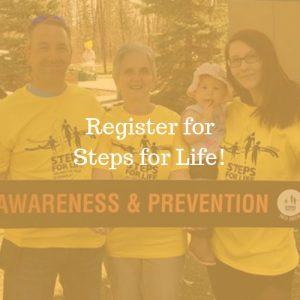 Register for Steps for Life!