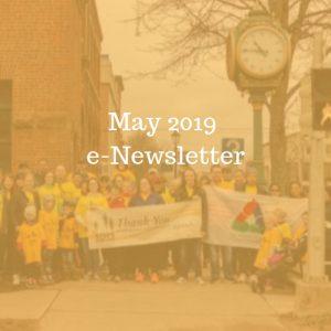 May 2019 e-Newsletter