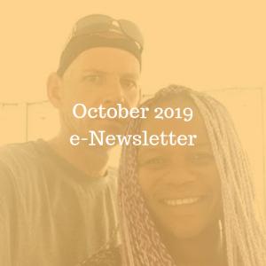 October 2019 e-Newsletter
