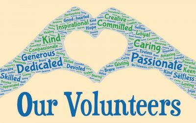 We can't say enough about our volunteers!